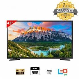 "Téléviseur 43"" - Samsung - Full HD TV N5000 Serie 5-Garantie 1 an."