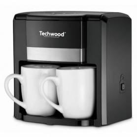 Cafetière  - Techwood - 2 Tasses - 0.6 L - TCA-206 - Noir