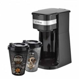 Machine à Café - Kiwi - Avec 2 Mug - KCM-7515 - Noir