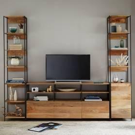 Meuble tv moderne en fer