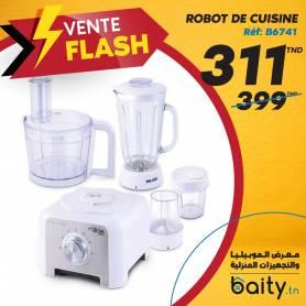 vente flash - Foire du meuble I Robot De Cuisine My Kitchen - 800W - Blanc - PALS.30587 - Garantie 1 An