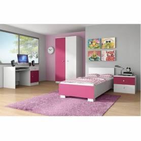 Chambre Fillette-Rose-Blanc