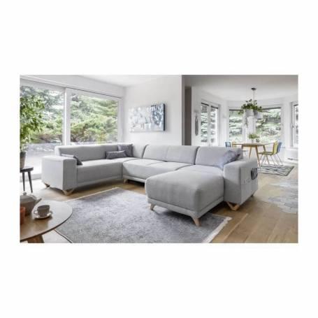 Canapé d'angle - Bella - 310*230*160cm - Gris