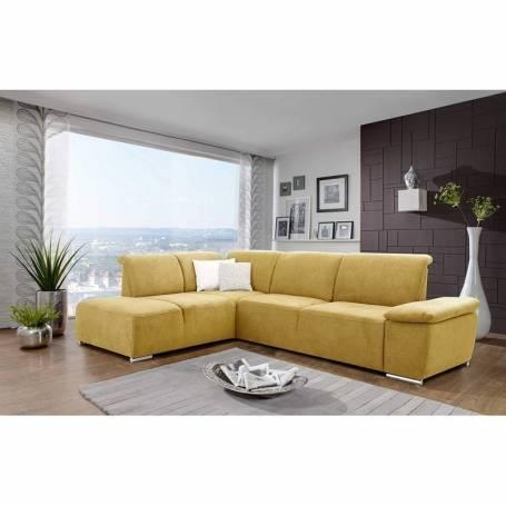 Canapé d'angle - Drama - 260*200 cm - Jaune