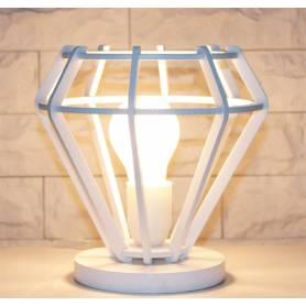 Veilleuse LampH-Blanc