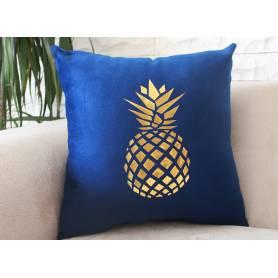Coussin Décoratif – Bleu Ananas