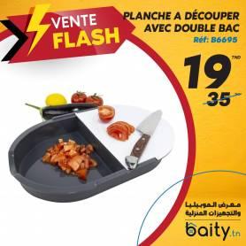 vente flash - Foire du meuble Planché a découper avec Double Bac
