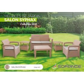 SALON JARDIN SYPHAX-4 places GREGE