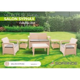 SALON JARDIN SYPHAX- 4 places VANILE