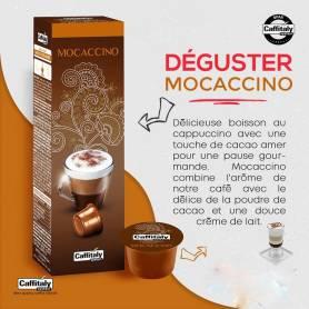 CAPSULES À CAFÉ CAFFITALY MOCACCINO