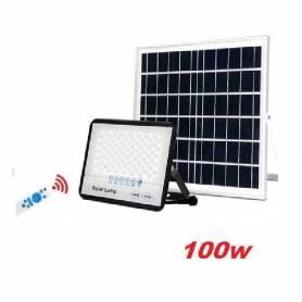Projecteur solaire à LED 100W - Noir