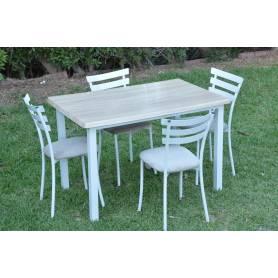 Table Luxy werzalit-Blanc