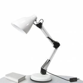 Lampe bureau réglable style moderne - Blanc