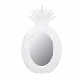 Miroir Murale - ANANAS - Blanc