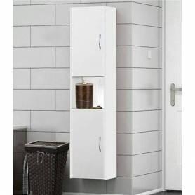Colonne salle de bain-Blanc