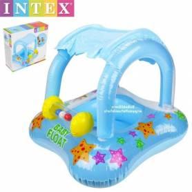 Intex Baby Float-Gonflable couverte - 81X66 Cm-Bleu