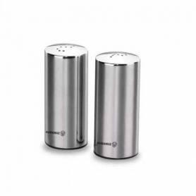 Korkmaz Set Duo Sel et Poivre - A602 - Inox - Hauteur 7,5 cm