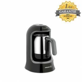 Korkmaz Cafetière Turc - Noir - 400W - A860-07 - Garantie 1 An