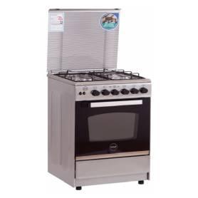 Cuisinière à gaz Azur 4 feux 60*60 Full Inox