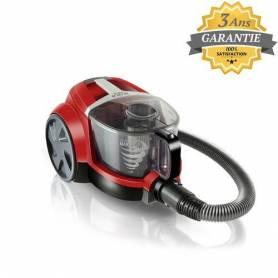 Arnica Aspirateur Sans Sac PIKA - ET-14401-Rouge - 750W-2000W - Garantie 3 ans