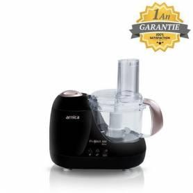Arnica Mini Robot Multifonctions - Prokit 444 - GH21032 - 600W - Noir - Garantie 1 An
