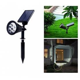 Spot Lumière Solaires Réglables pour Jardin - Imperméable à l'eau