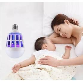Lampe LED & anti-moustiques 15W