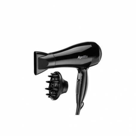 Aprilla Sèche cheveux - 2200 W - 2 vitesse - AHD 2127 - Noir