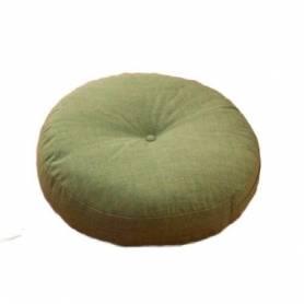 Coussin Déco Rond 50cm - vert