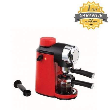 Livoo Machine à café expresso - DOD159 - Rouge - Garantie 1an