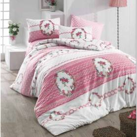 Golden Home Cache Couette - 220*240 - rose