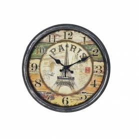 Horloge Mural - Vintage - Diamètre: 35 Cm