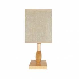 Lampe de Chevet - Bois - 35 X 24 Cm
