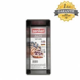 Zenker Moule à Cake - 25CM - Pure - RE3971 - Noir - Garantie 1 an