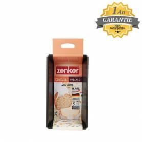 Zenker Moule à Cake Special Mini - RE7685 - Noir - Garantie 1 an