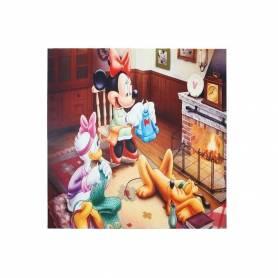 Tableau Décoratif - Chambre Enfant - 29.5 X 29.5 X 2.5 Cm