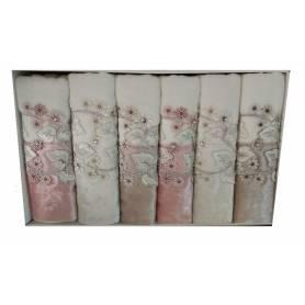 Lot de 6 serviettes - Durul - 50x90
