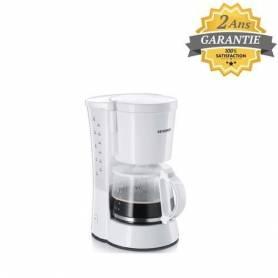 Severin Cafetière Electrique - KA4478 - 800W - 15 Tasses - Blanc - Garantie 2 Ans