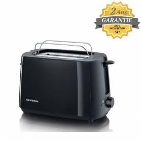 Severin Grille-Pain - Toaster - AT2287 - 700 W - Noir - Garantie 2 Ans