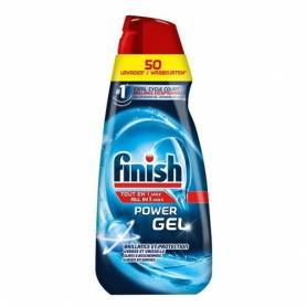 Finish Gel Dégraissant - Lave-Vaisselle - Tout en 1 Max - Nature - Jusqu'au 50 Lavages - 1L