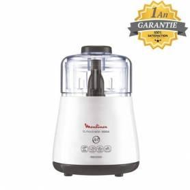 Moulinex Moulinette - Mini Hachoir - Blanc - 1000W - DPA141 - Garantie 1 An