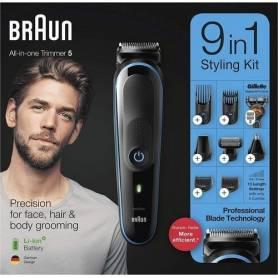 Braun Tondeuse - Multifonctions 9en1 - 100 Minutes Autonomie - MGK5280 - Garantie 1 An