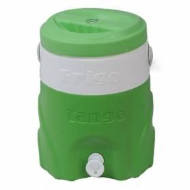 Tango Glacière d'eau Avec Fontaine - Tango - 14L - Vert & Blanc