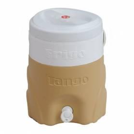 Tango Glacière d'eau Avec Fontaine - Tango - 14L - Beige & Blanc