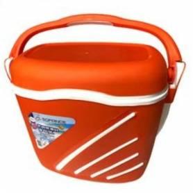 Sofpince Glacière - Fresh Box – 30 L - Orange - Plastique alimentaire