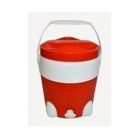 Sofpince Glacière avec fontaine -15 L - Rouge