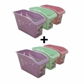 Sofpince Lot de 6 Optifrigos pour Réfrigérateur - Muticouleur