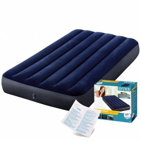 Intex Matelas gonflable - Confortable plein Air - 99*191*25 cm