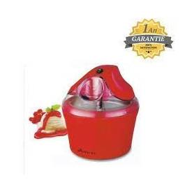 Royality Ice - Machine à Glace -Sorbet - Made In Germany - Rouge - Garantie 1 An