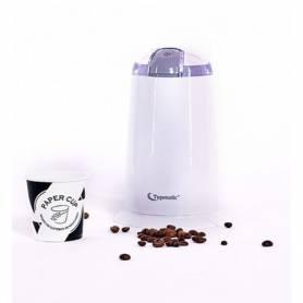 Topmatic Moulin A Café - Blanc - 140W - CG-140 - Garantie 1 An